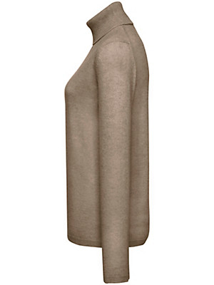 Peter Hahn Cashmere Nature - Strikbluse 100% kashmir