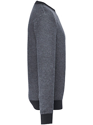 Peter Hahn Cashmere - Pullover med rund hals af ren kashmir