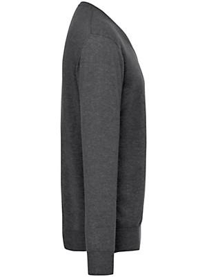 Peter Hahn Cashmere - V-bluse 100% kashmir