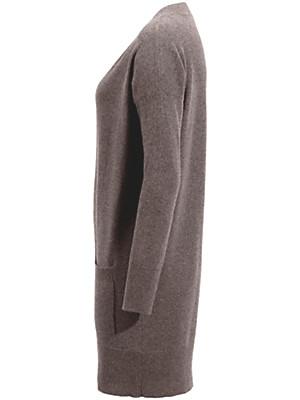 Peter Hahn Cashmere - V-bluse i kashmir