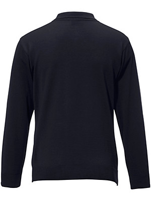 Peter Hahn - Polostrikbluse 100% ren ny uld