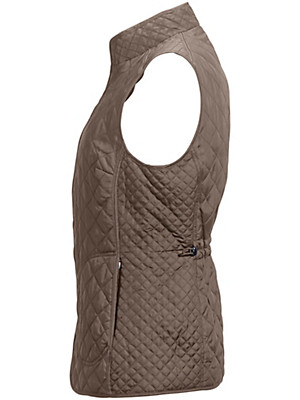Peter Hahn - Quiltet vest 100% silke