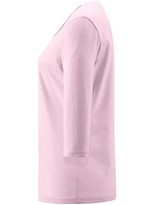 Peter Hahn - Shirt med rund hals og 3/4 ærmer