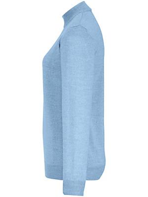Peter Hahn - Strikbluse 100% ren ny uld