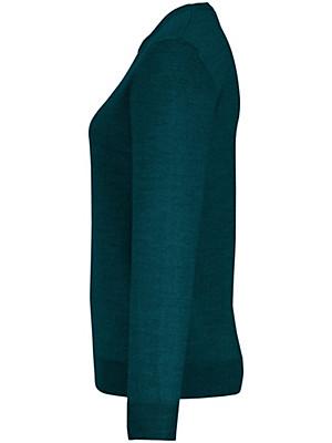 Peter Hahn - Strikbluse i 100% ren ny uld