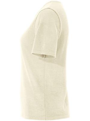 Peter Hahn - Strikbluse i ren ny uld