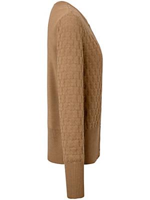 Peter Hahn - Strikjakke 100% ren ny uld