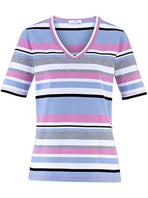 Peter Hahn - T-shirt m. V-udskæring