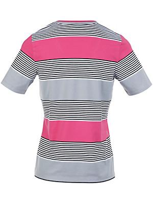 Peter Hahn - V-shirt med korte ærmer