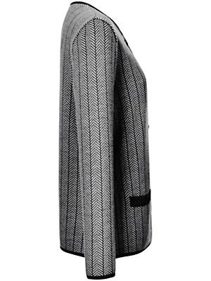 Peterseim - Strikjakke 100% ren ny uld