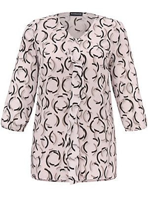 Samoon - Bluse med 3/4-lange ærmer