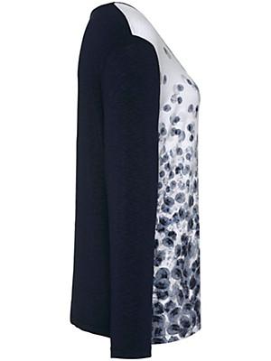 Samoon - Bluse med rund hals