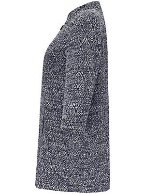 Samoon - Lang jakke med 3/4-lange ærmer