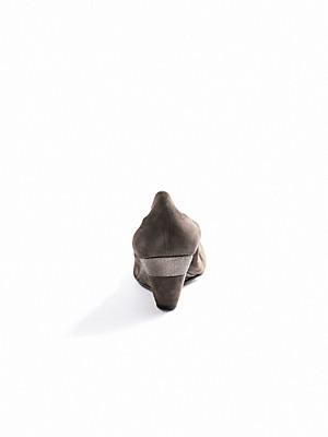 Scarpio - Pumps med kilehæl af gederuskind