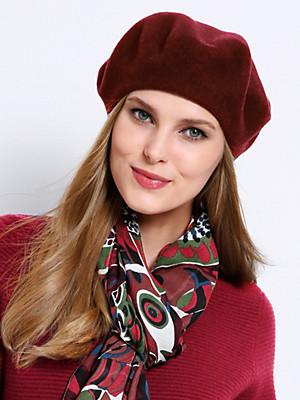 Seeberger - Baskerhue 100% ren ny uld