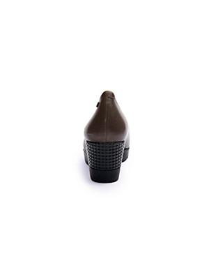Softwaves - Pumps af blødt gedenappalæder