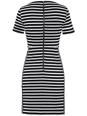 Strenesse - Jerseykjole med korte ærmer.