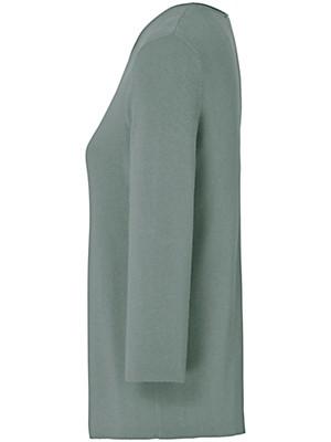 Uta Raasch - Bluse med rund hals og 3/4-ærmer