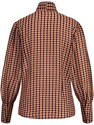 Uta Raasch - Bluse med ståkrave