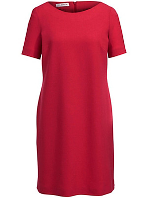 Uta Raasch - Kjole med korte ærmer af 100 % ren uld