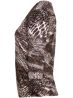 Uta Raasch - Shirt med rund hals og 3/4 ærmer