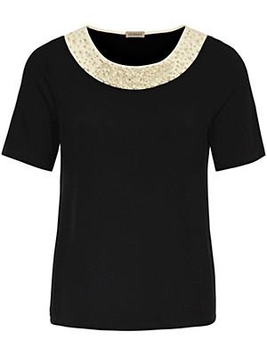 Uta Raasch - T-shirt med rund hals og korte ærmer
