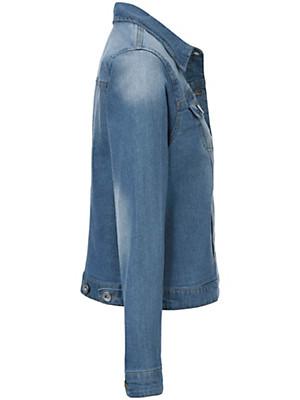 zizzi - Jeans-jakke i kort form