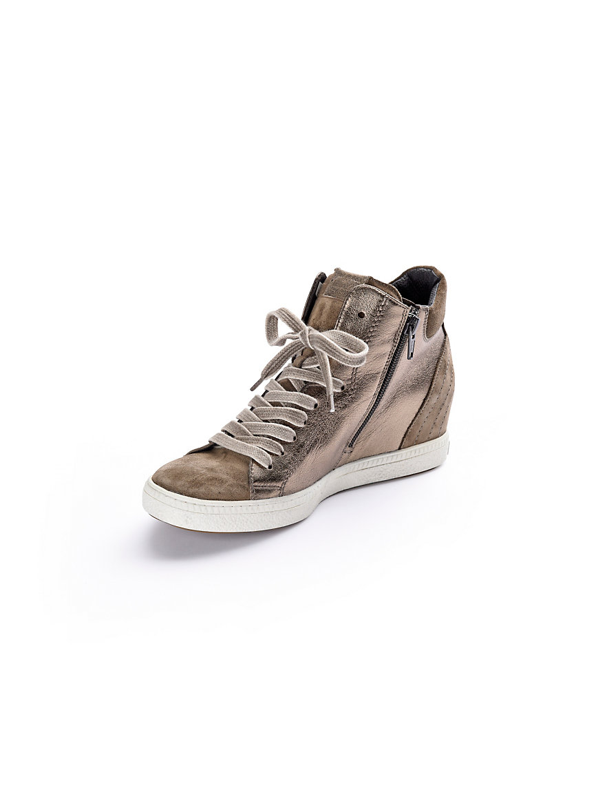 paul green sneakers taupe bronze metallic. Black Bedroom Furniture Sets. Home Design Ideas