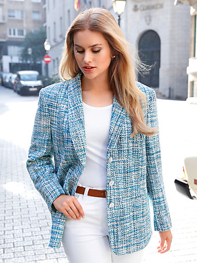 Anna Aura - Blazer af 100 % silke