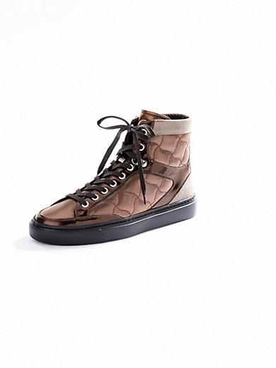 Bogner - Ankelhøje sneakers af kalvenappa.