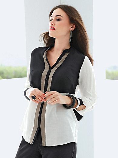 Emilia Lay - Bluse med lange ærmer