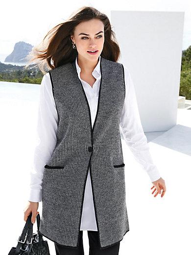 Emilia Lay - Strikvest af 100% uld