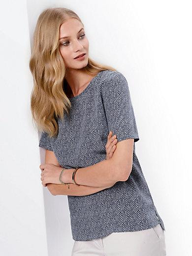 Fadenmeister Berlin - Skjortebluse i 100% silke