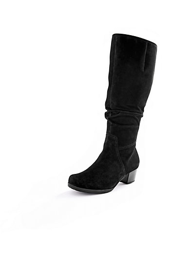 """Gabor - Støvler med vide skafter med """"Opti-Fit""""-udstyr"""
