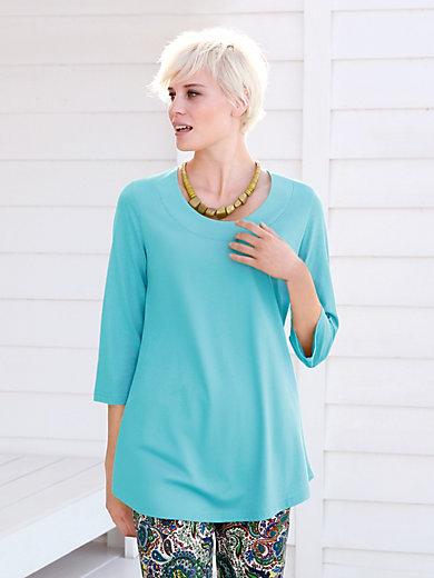 Green Cotton - Long-shirt 3/4-arm