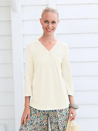 Green Cotton - V-shirt 3/4-ærmer