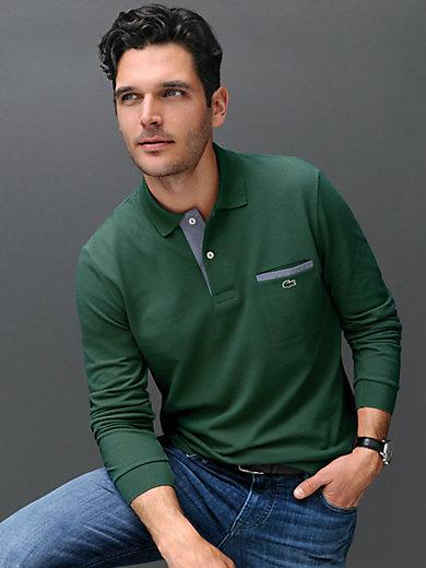 """Lacoste - Poloshirt """"Form PH0118"""" med lange ærmer."""