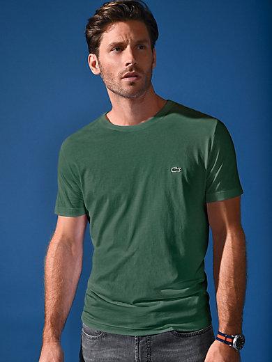 Lacoste - T-shirt med rund hals og korte ærmer