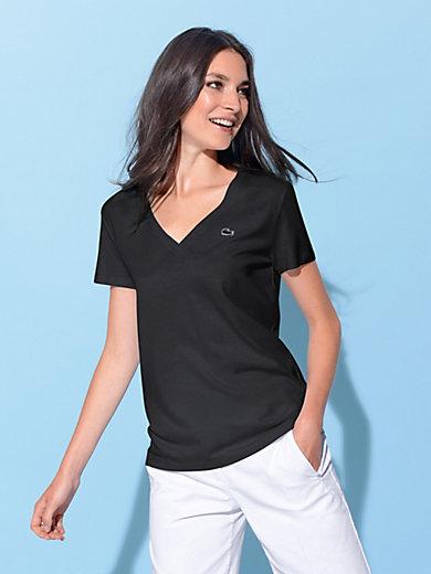 Lacoste - V-shirt m. korte ærmer