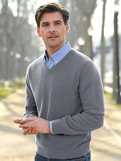 Peter Hahn - Strikbluse m. V-udskæring