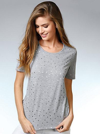 Peter Hahn - T-shirt med rund halsudskæring