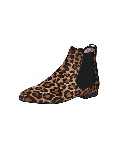Pretty Ballerinas - Ekstravagante støvletter i leopard-look