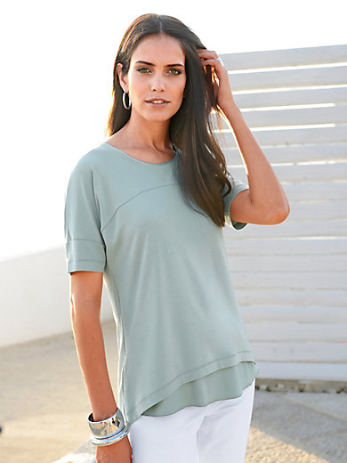 Riani - T-shirt med rund halsudskæring