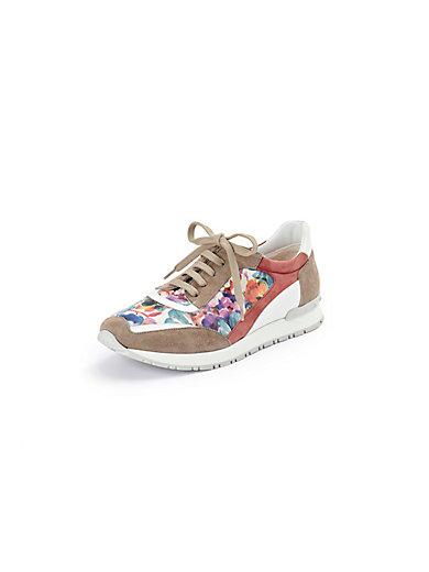 Scarpio - Sneakers af gederuskind og gedenappa
