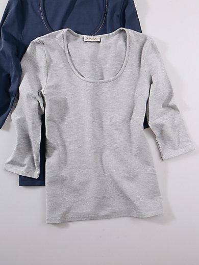 Uta Raasch - Shirt med rund hals og 3/4-ærmer
